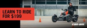 Can-Am Spyder Rider Training